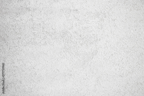 Fototapety, obrazy: Subtle white wall texture grunge grit concrete graphic resource