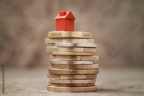 Fototapeta Property Investment or House Mortgage Concept obraz