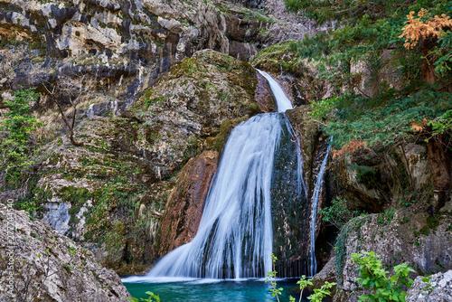 Natural place of the birth of the Mundo River, Albacete