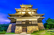 Leinwanddruck Bild - Matsue Japan at the Castle