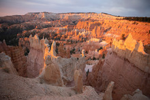 Sand Columns In Bryce Canyon A...