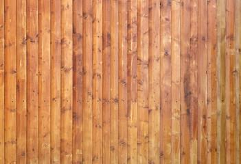 Fototapeta Architektura Wooden wall assembled of boards