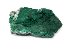 A Malachite Stone Placed On Th...