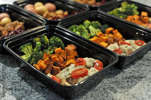 Fototapeta  Healthy Sunday Meal Prep