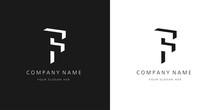 F Logo, Modern Design Letter Character