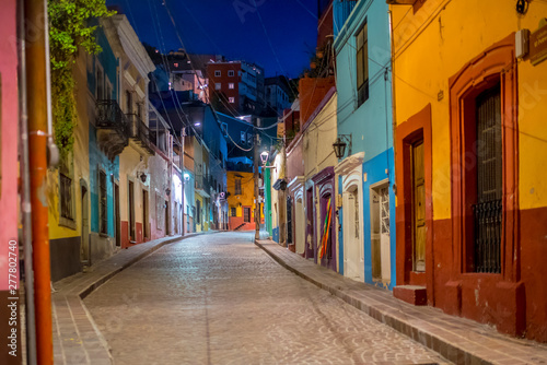Fotomural  calle en guanajuato