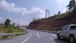 Video of rural roads in Thailand Route 1090 Mae Sot - Umphang line 164 km distance