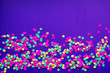 canvas print picture - abstract background with confetti