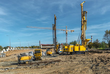 Pile Driving Drilling Machines...