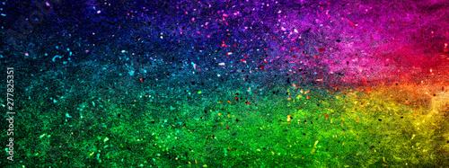カラフルな光の粒子 Slika na platnu