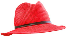 Red Hat Isolated On White Back...