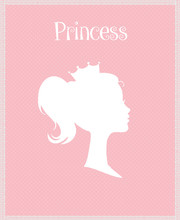 Princess Or Queen Profile Silh...