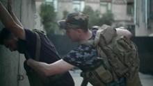 Military Patrol Detains A Criminal
