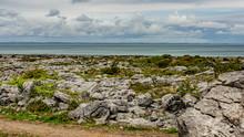 Irish Landscape Of The Sea And...
