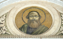 Saint Matthew The Apostle, Mosaic In The Basilica Of Saint Paul Outside The Walls, Rome, Italy