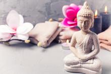Spa Wellness  Meditation Setting