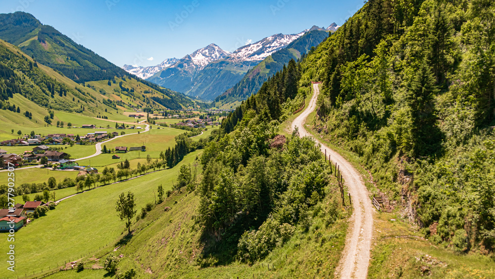 Fototapety, obrazy: Beautiful view of the famous Rauris valley, Salzburg, Austria