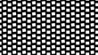 Monochrome rotating squares background. geometrical squares, abstract black, white and grey animation.