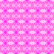 canvas print picture - Pink square allover seamless pattern. Hand drawn w