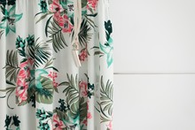 Floral Summer Dress Isolated