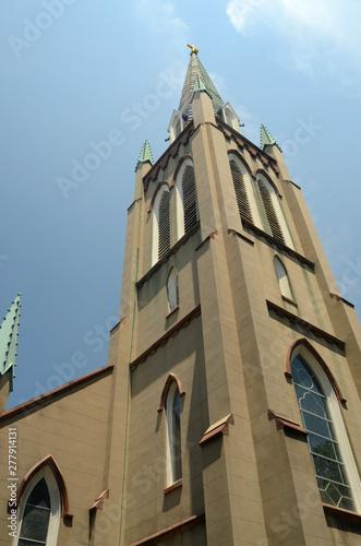"""ST. JOHN""""S CHURCH, OLD SAVANNAH"""