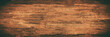 alte braune dunkle rustikale Holztextur - Holz Hintergrund Panorama Banner lang