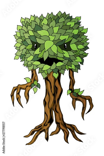 Fotografia Monster plant illustration