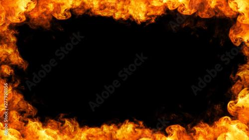 Photo sur Toile Feu, Flamme An element of smoke/fire design. Enjoy. Thank you.