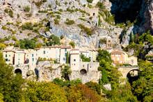 Moustiers Sainte Marie, Alpes De Haute Provence Departement, France
