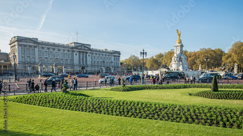 Canvas Print Buckingham Palace - Panorama