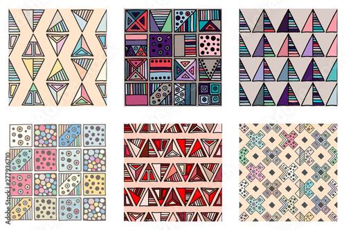 Seamless vector pattern Wallpaper Mural