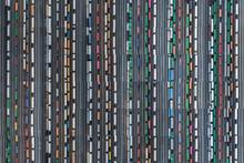 Train Yard Collage, Atlanta, Georgia