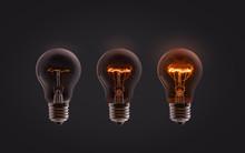 Incandescent Of Light Bulb