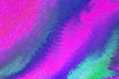 canvas print picture - Abstract, blury patterned colorful background