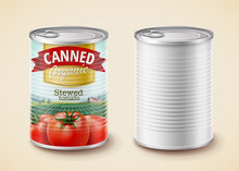Canned Stewed Tomato Package