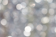 Abstract Glitter Defocused With Blinking Lights Blurred Bokeh