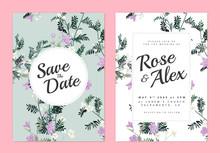 Botanical Wedding Invitation C...