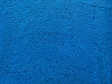 Dark Blue Background Of Natural Slate. Texture Of Stone