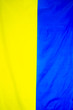canvas print picture - The national flag of Ukraine is Independence Day.