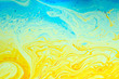 canvas print picture - Abstract soap bubble structure