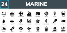 Marine Icon Set