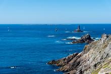 Seascape With Cliffs In Pointe Du Raz