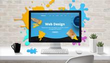 Web Design Concept. Modern Web...
