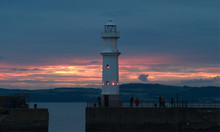 The Lighthouse At Newhaven Har...