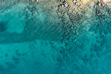 Aerial View Of The Sea And Sto...