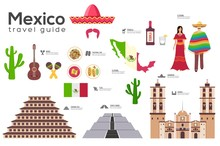 Mexico Travel Guide Template. ...