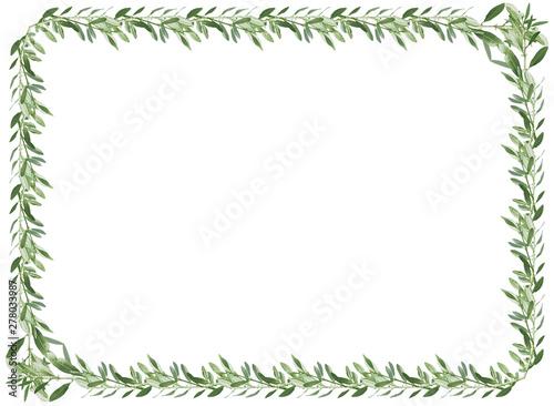 Obraz Cadre d'olivier - fototapety do salonu