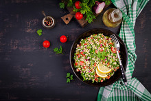 Tabbouleh Salad. Traditional M...