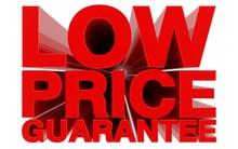 LOW PRICE GUARANTEE Red Word O...