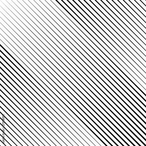 Oblique edgy line pattern background Canvas Print